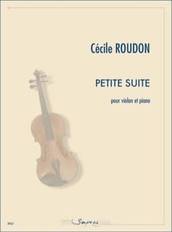 Cécile Roudon - Small suite - Sheet Music - di-arezzo.co.uk