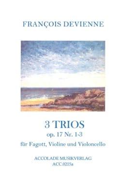 Francois Devienne - 3 Trios op. 17, No. 1-3 - Sheet Music - di-arezzo.com