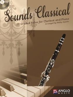 Sounds Classical - Clarinette et piano Partition laflutedepan