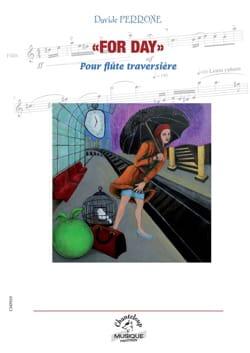For Day - Flûte seule - Davide Perrone - Partition - laflutedepan.com