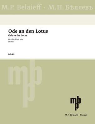 Ode an den Lotus - Tigran Mansurjan - Partition - laflutedepan.com