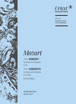 MOZART - Oboe Concerto in C Major KV 314 285d - Sheet Music - di-arezzo.com