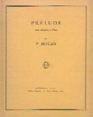 Pierick Houdy - Prelude - Sheet Music - di-arezzo.co.uk