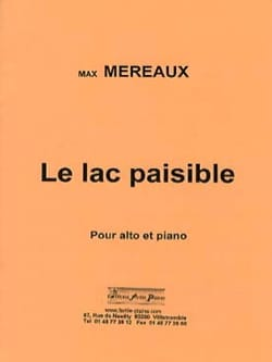Max Méreaux - Le Lac paisible - Partition - di-arezzo.fr