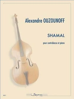 Alexandre Ouzounoff - Shamal - Sheet Music - di-arezzo.co.uk