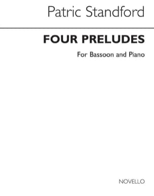 Patric Stanford - Four Preludes - Sheet Music - di-arezzo.com