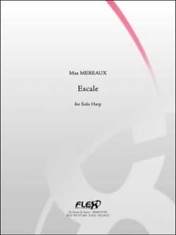 Escale Max Méreaux Partition Harpe - laflutedepan