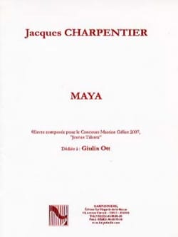 Jacques Charpentier - Maya - Sheet Music - di-arezzo.co.uk