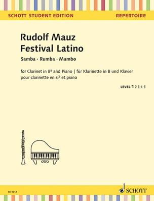 Festival Latino - Rudolf Mauz - Partition - laflutedepan.com