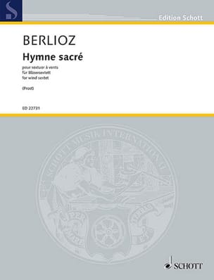 BERLIOZ - Sacred Hymn, for Wind Sextet, H44C - Sheet Music - di-arezzo.com