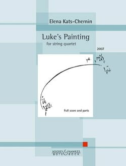 Elena Kats-Chernin - Luke's Painting - Sheet Music - di-arezzo.co.uk