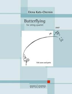 Elena Kats-Chernin - Butterflying - Partition - di-arezzo.fr