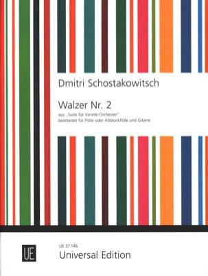 CHOSTAKOVITCH - バラエティ・オーケストラ第1番のワルツ第2番 - 楽譜 - di-arezzo.jp