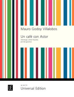 Mauro Godoy Villalobos - Café con Astor - Homenaje a Astor Piazzolla - Partitura - di-arezzo.es