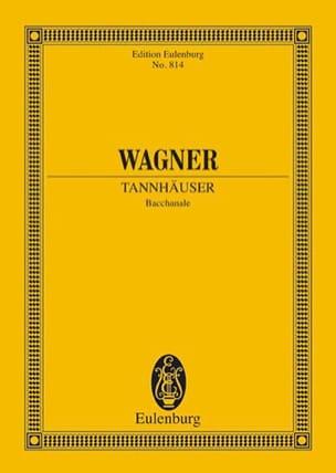 Bacchanale - Richard Wagner - Partition - laflutedepan.com