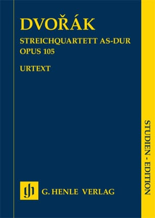 Quatuor à cordes en La bémol Majeur Opus 105 - Urtext - laflutedepan.com