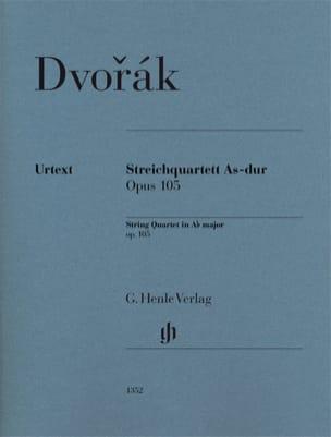 Quatuor à cordes en La bémol Majeur Opus 105 - Urtext laflutedepan
