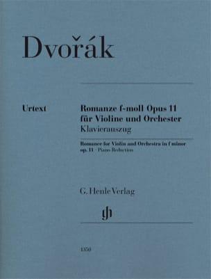 Antonin Dvorak - Romance en Fa mineur Opus 11 - Urtext - Partition - di-arezzo.fr