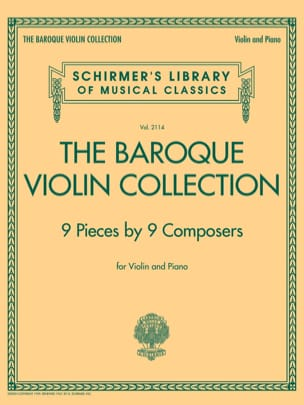 The Baroque Violin Collection - Partition - laflutedepan.com