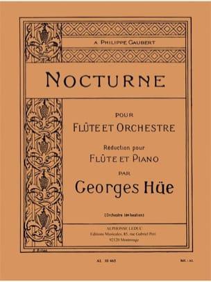 Georges Hüe - nocturno - Partition - di-arezzo.es