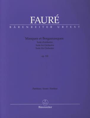 Masques et Bergamasques, opus 112 - Gabriel Fauré - laflutedepan.com