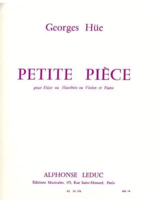 Georges Hüe - Petite pièce - Partition - di-arezzo.fr