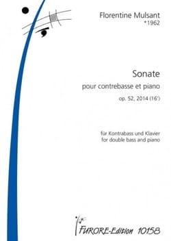 Sonate - Contrebasse et piano Florentine Mulsant laflutedepan