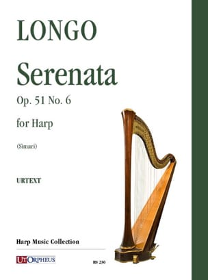 Allessandro Longo - Serenata Opus 51 No. 6 for Harp - Sheet Music - di-arezzo.co.uk