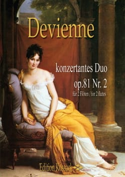 Francois Devienne - Duo Concertant op. 81 n ° 2 - 2 Flutes - Sheet Music - di-arezzo.co.uk