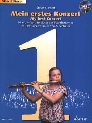 - Mon premier concert - 24 Pièces faciles à travers cinq siècles, - Partition - di-arezzo.fr