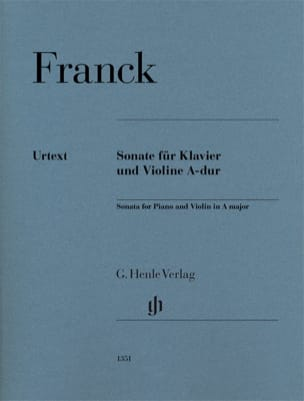 César Franck - Sonata for Violin in A major - Urtext - Sheet Music - di-arezzo.co.uk