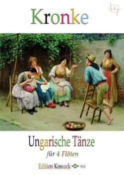 Emil Kronke - Ungarische Tänze Opus 104 - Partition - di-arezzo.fr