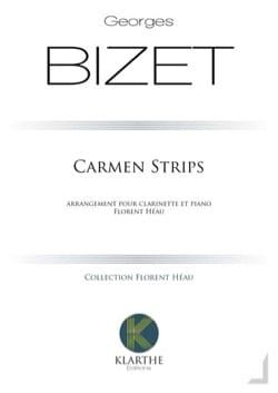 Carmen Strips - Georges Bizet - Partition - laflutedepan.com
