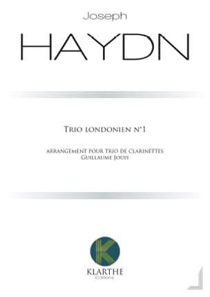 HAYDN - Trio n ° 1 - 3 Clarinets - Sheet Music - di-arezzo.co.uk