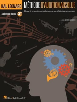 Adam Perlmutter - Méthode d'audition absolue, avec audio en téléchargement - Partition - di-arezzo.fr