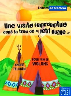 André Telman - Une visite impromptue dans la tribu de Petit Nuage - Partition - di-arezzo.fr