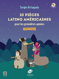 Sergio Arriagada - 10 Latin American pieces - Sheet Music - di-arezzo.co.uk