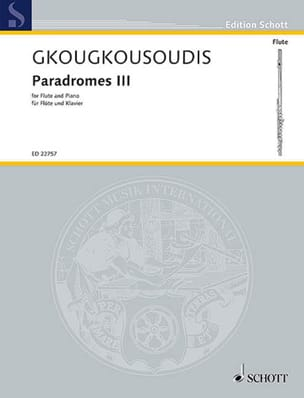 Paradromes III - Theodoros Gkougkousoudis - laflutedepan.com