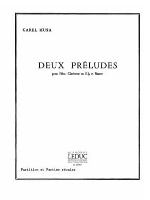 Karel Husa - 2 Preludes - Conductor Parties - Sheet Music - di-arezzo.com