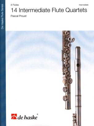 Pascal Proust - 14 Intermediate Flute Quartet - Sheet Music - di-arezzo.co.uk