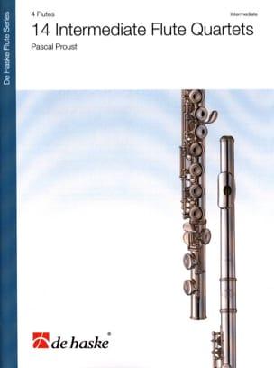 14 Intermediate Flute Quartet Pascal Proust Partition laflutedepan