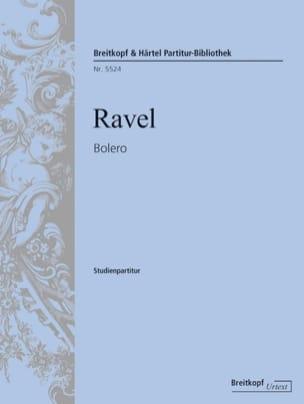 Maurice Ravel - Bolero - Sheet Music - di-arezzo.com