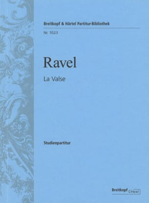 La Valse RAVEL Partition Petit format - laflutedepan
