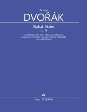 Antonin Dvorak - Stabat Mater, Opus 58 - Partition - di-arezzo.fr