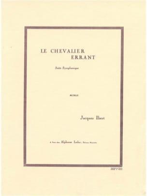 Jacques Ibert - The wandering knight - Sheet Music - di-arezzo.co.uk