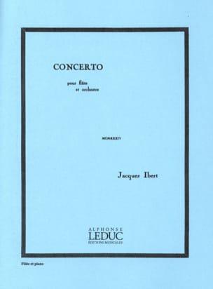 Jacques Ibert - Concerto pour Flûte - Partition - di-arezzo.fr