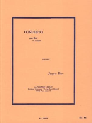 Jacques Ibert - Concerto pour flûte – Conducteur - Partition - di-arezzo.fr