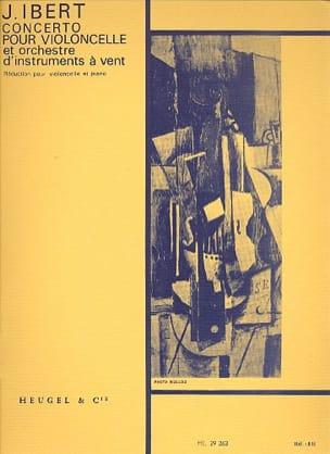 Jacques Ibert - Concerto pour Violoncelle - Partition - di-arezzo.fr