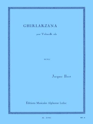 Jacques Ibert - Ghirlarzana - Sheet Music - di-arezzo.co.uk
