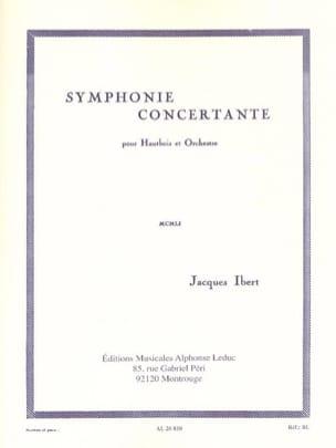 Symphonie Concertante IBERT Partition Hautbois - laflutedepan